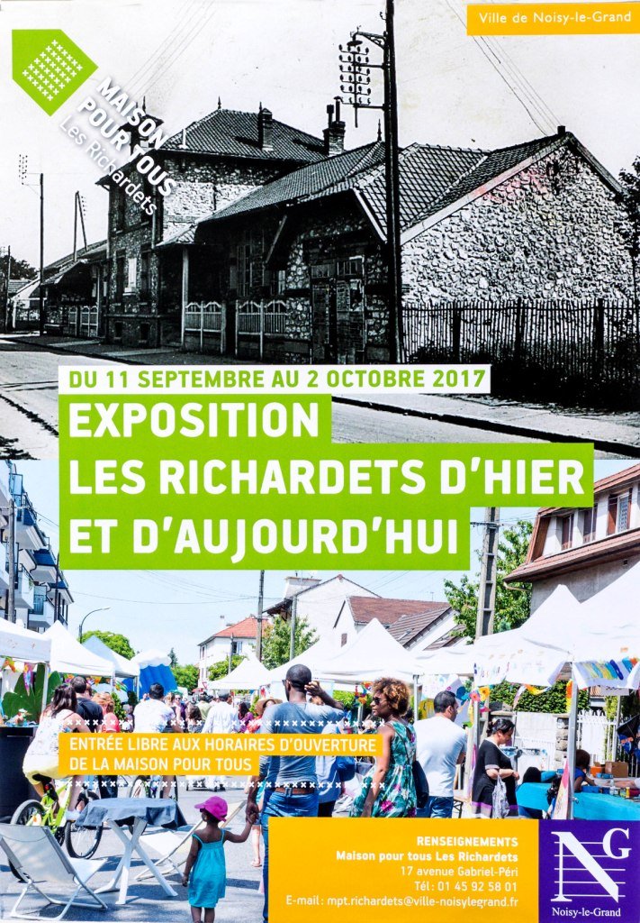 affiche expo richardets